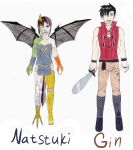 Natstuki and Gin by Pink--Reptile