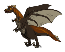 Dinosaur Dragon Adopt -Open- by HollowThinker