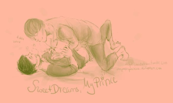 Sweet Dreams, My Prince by mephistophelesia