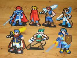 fire emblem bead sprites by gfroggy87