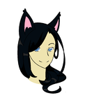 Cat Girl August 8 2013 by Casey2038