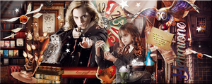 Hermione Magic Signature by VaL-DeViAnT