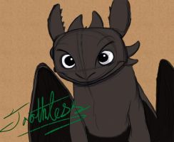 Toothless by Mitch-el