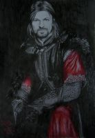 Boromir by SweetCandyRain