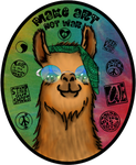 Hippie Llama by FreeSpiritFotography