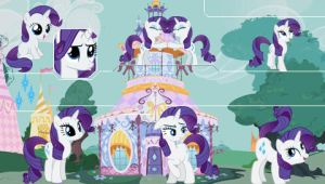 Rarity PSP Wallpaper by Hidan475