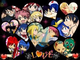 Fairy Tail Couples by LilyRose98