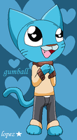 Gumball Watterson by lopez765