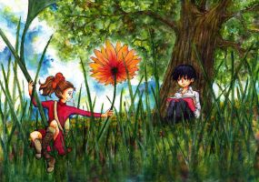 Arrietty the Borrower by chiinosei