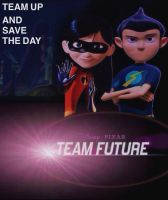 Team Future Theatrical Poster by Bambrixbam