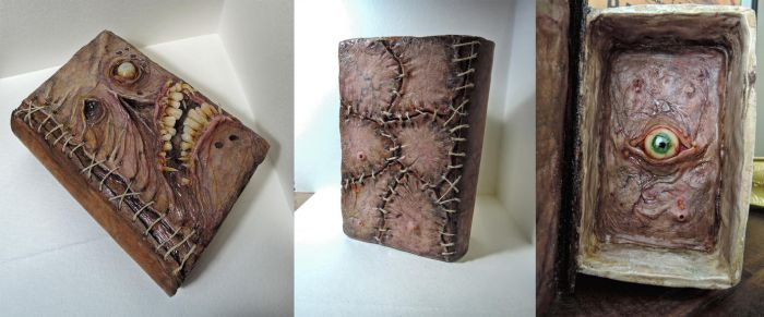 Book Of Dead / storage box by MorgansMutations