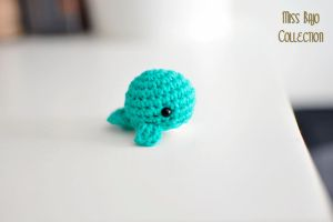 Amigurumi whale by MissBajoCollection