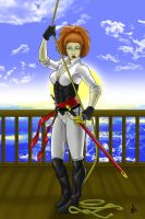 Female Privateer for PCRaven by JOEYDES