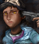 THE WALKING DEAD: Clementine - Pull the Trigger... by IviEnchant