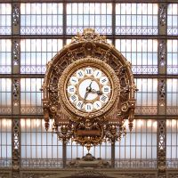 Orsay's clock by Simounet