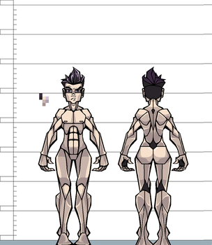 [BttS] Anatomy of a Main Character by aPixelPerfectionist