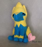 Manectric Plush by Plush-Lore