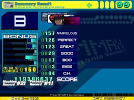 Stepmania 1: Final score 1 by NeoMordiki