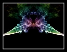 Abstract Smoke Series 03 by mgfletcher
