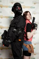 HUNK and Claire MomoCon 2013 by BlueEyesMaster