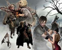 Resident Evil 4 Wallpaper by VenomSerenity