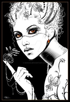 Black Lilly by Dianae