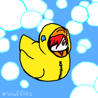 That's One Hot Duckie by WafflesMcCoy
