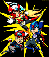 viewtiful hunters by mizz-ninja