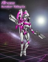 Arcee: Autobot Valkyrie by Tramp-Graphics