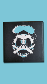 Xray Donald Duck Painting by cgianelloni