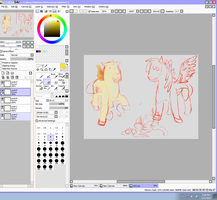 pokemon my little pony cross over wip by Emporess-Jing