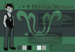 Phrixus Menura - Ref Sheet by Sparkle-And-Sunshine