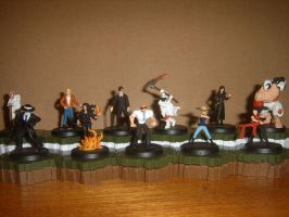 Skulduggery Pleasant Minis (Updated) by Living-Demon