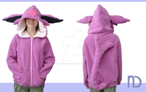 Espeon Hoodie by NymphadoraDesigns