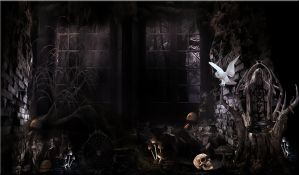 SCARY PRE MADE BACKGROUND by VaL-DeViAnT