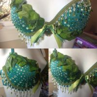 Poison Ivy Theme inspired Cosplay Bra! by serribi3night