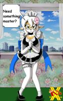 Eldora as Maid by MRSaeba-San