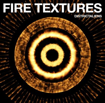 14 Free High Resolution Fire Textures by DistrictAliens