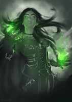 Sorceress by Straban