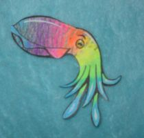 resubmit, rainbow cuttlfish by toxiclysweet