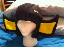 G1 Sunstreaker hat with pin by PlanetPlush
