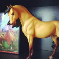 Spirit - Stallion of the Cimarron - Breyer by CrocodileRawk