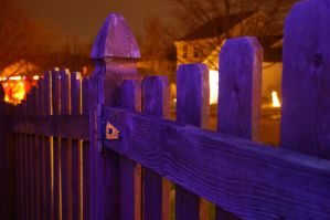 Winter fence by i-likethis
