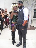 Lord Blackwater @ the SDCC 2013 Steampunk meet #18 by pa68