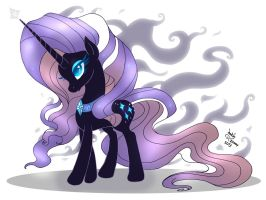 MLP FIM - Nightmare Rarity by Joakaha
