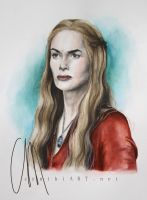 lena headey as cersei lannister (game of thrones) by cymue