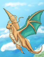 Dragonite by Alliusis