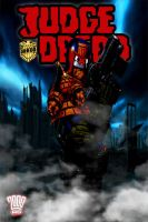 my judge dredd comic cover poster 2 by IGMAN51