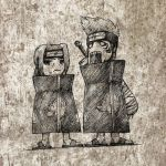 Itachi and Kisame by Silver-Fate