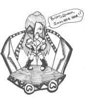 Chibi Queen Illia by ryuunootome